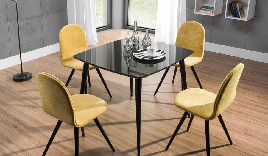 stół_essai_black_krzesła