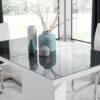 Evita Glass Steel